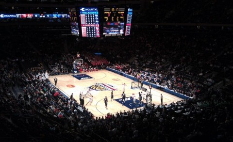 madison square garden big east tournament