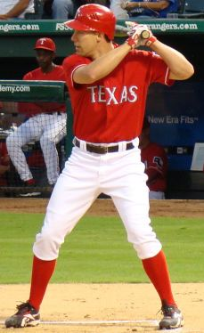 David Murphy Texas Rangers (Credit: Red3biggs)