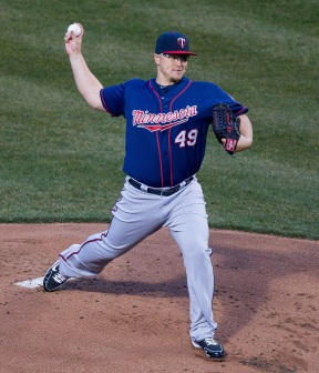 Vance Worley Minnesota Twins (Credit: Keith Allison)