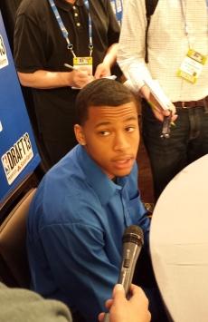 Trey Burke media NBA Draft