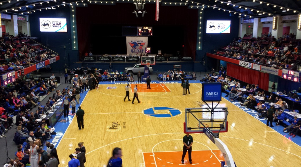 westchester knicks county center